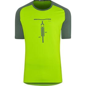 Norrøna Fjørå Equaliser Lightweight T-Shirt Heren, bamboo green